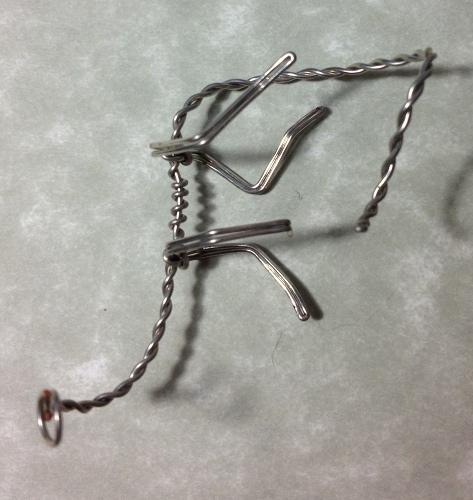 Скелет из проволоки своими руками 34