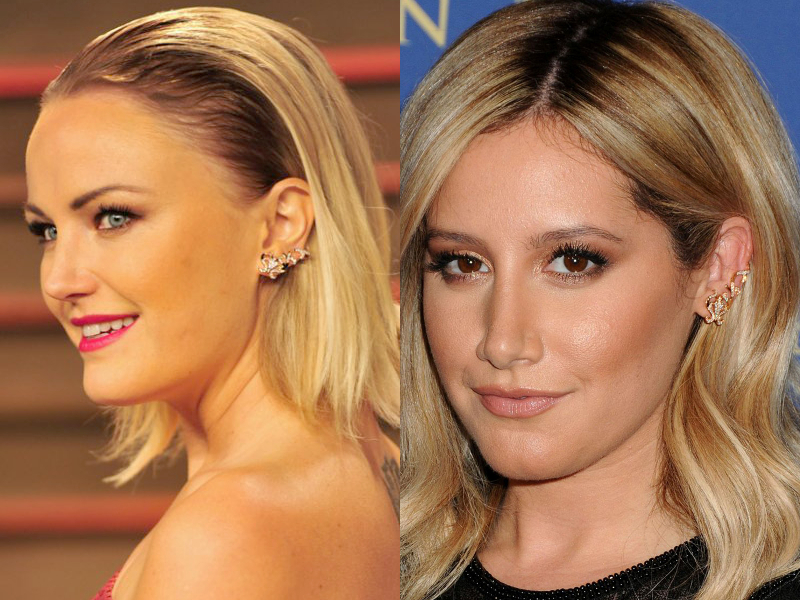 Dionea_Orcini_ear_cuff_Malin_Akerman_and_Ashley_Tisdale