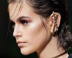 Серьги каффы 2020 от Versace