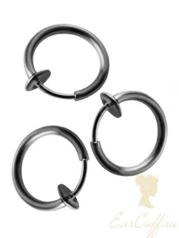 Три черных пирсинг обманки