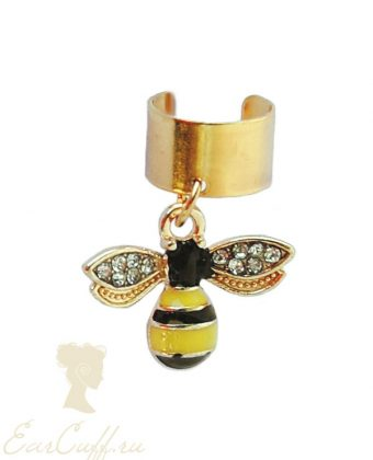 Кафф с пчелкой