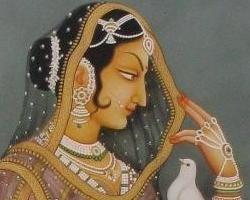 История сережек каффов: Древняя Индия