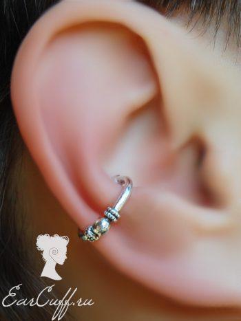 Пирсинг обманка для ушей и септума