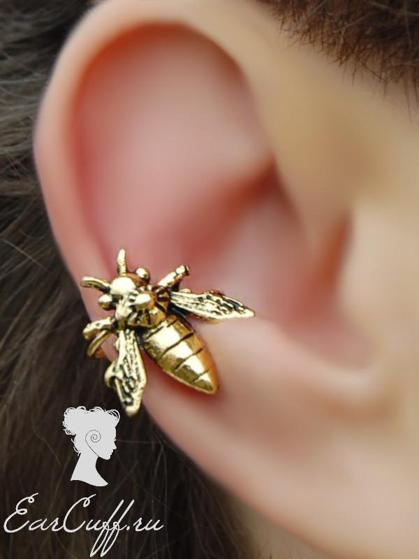 Кафф бронзовая пчёлка