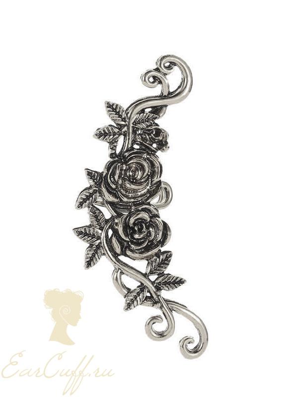 Кафф винтажная роза