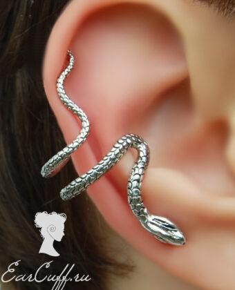 Кафф изгибающаяся змея
