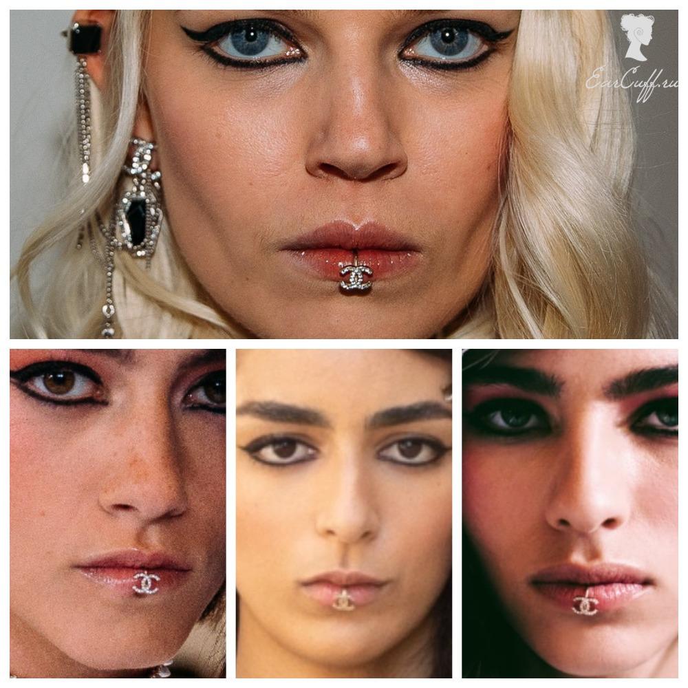 Обманки губ Chanel 2022 года